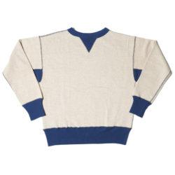 HC-M142-2 1930's 2tone Double V Sweatshirts