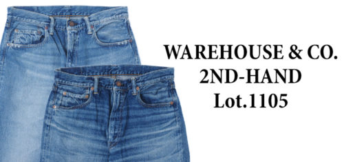 WAREHOUSE & CO. 2ND-HAND Lot.1105