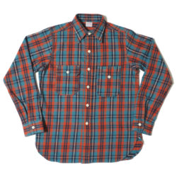 Lot 3105 FLANNEL SHIRTS(UNCLE SAM MODEL) A柄 ONE WASH