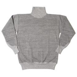 HC-M162-2 1930's Cotton High Neck Sweatshirts PLAIN