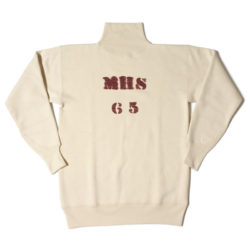 HC-M162-2 1930's Cotton High Neck Sweatshirts PRINTED