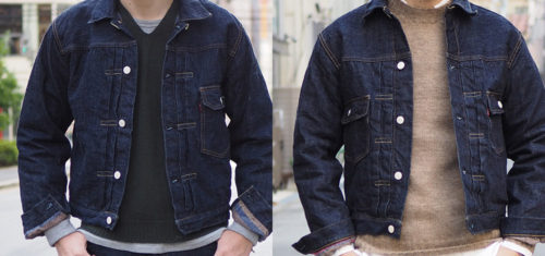 WAREHOUSE & CO. Lot 2001 & Lot 2002 DENIM JACKET