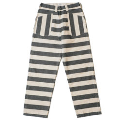 HC-255 BLK & WHT PRISONER PANTS BORDER OR