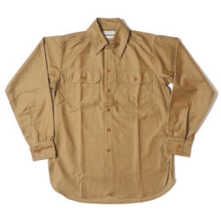 HC-256 1920's Army Flap Sateen Shirts OR