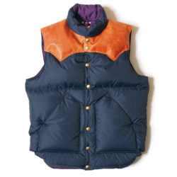 ROCKY MOUNTAIN×WAREHOUSE & CO. NYLON DOWN VEST