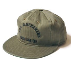 "COTTON BASEBALL CAP ""U.S.S.KAMEHAMEHA"""