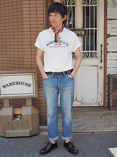 大人のTシャツスタイル