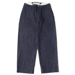 Lot 1205 MILITARY PANTS INDIGO DENIM