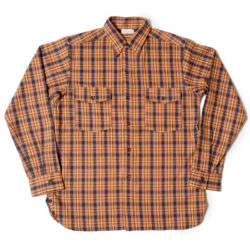 Lot 3022 FLANNEL SHIRTS WITH CHINSTRAP ONE WASH