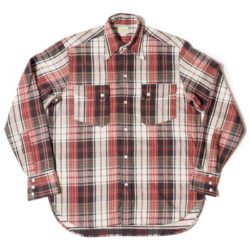 Lot 3029 FLANNEL WESTERN SHIRTS ONE WASH